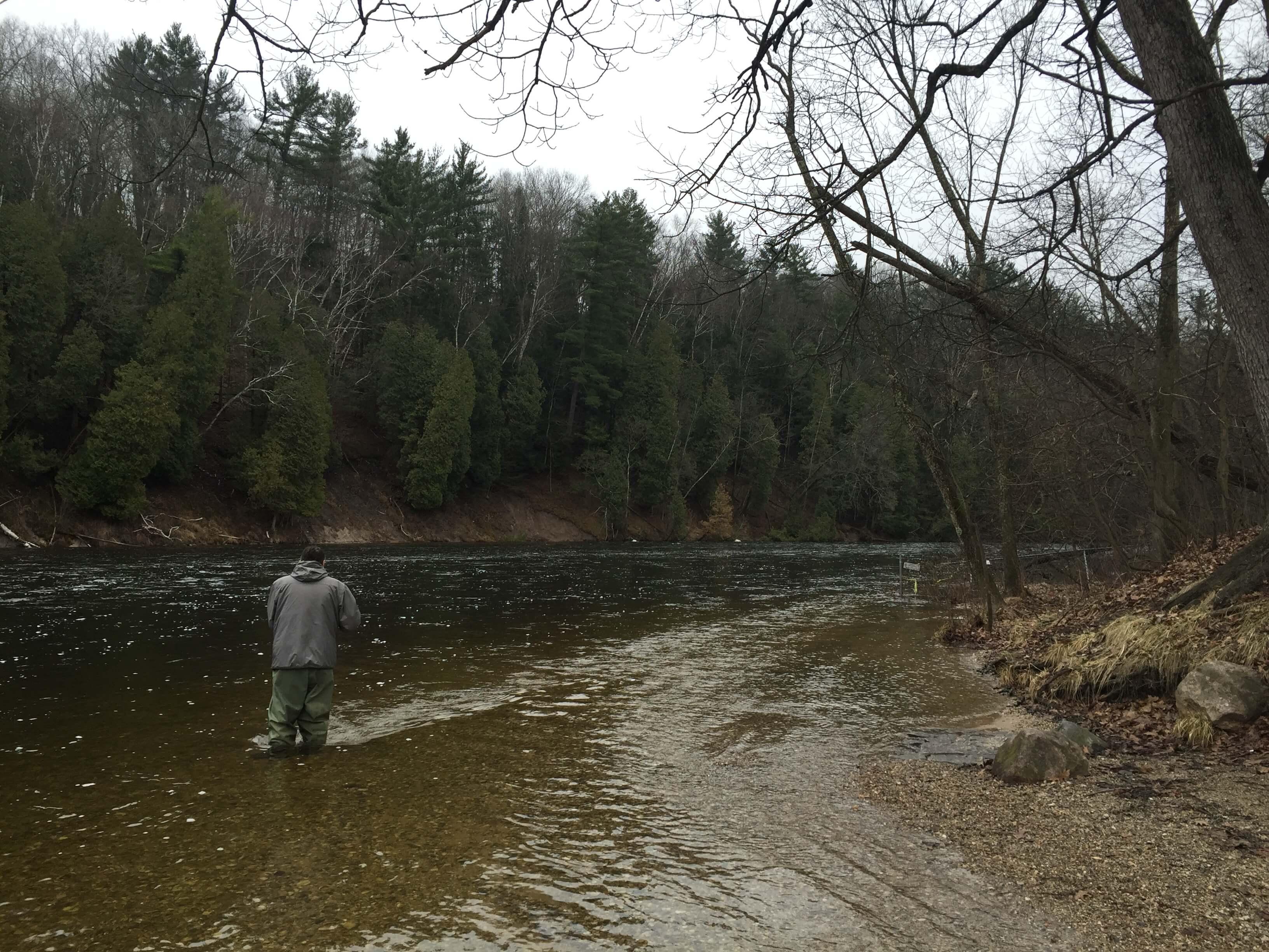 Muskegon river for Muskegon river fishing